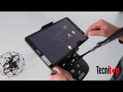 Dron Elios de Flyability vídeo demostración