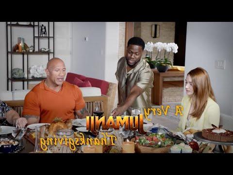 JUMANJI: THE NEXT LEVEL - A Very Jumanji Thanksgiving... IN REVERSE!