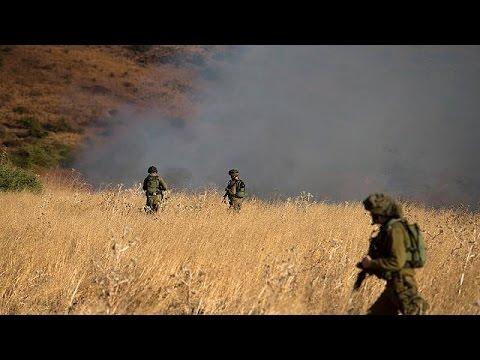 Αντίποινα Ισραήλ σε χτυπήματα με ρουκέτες στα υψίπεδα του Γκολάν