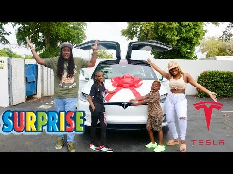 SURPRISING THE KIDS WITH A BRAND NEW CAR