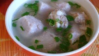 Taro soup - Canh khoai môn