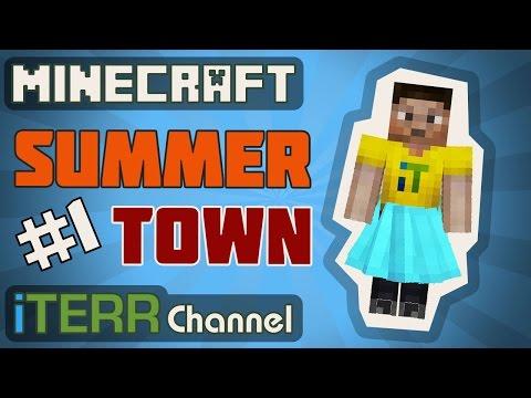 Майн. Summer Town #1.  [Карты От Подписчиков]