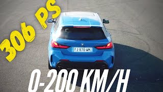 BMW M135i (F40) : 0-200 km/h by Motorsport Magazine