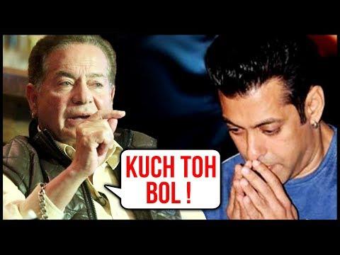 Salman Khan Stays Silent, While Salim Khan Opens U
