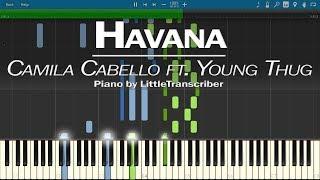 Video Camila Cabello - Havana (Piano Cover) ft Young Thug by LittleTranscriber MP3, 3GP, MP4, WEBM, AVI, FLV Maret 2018