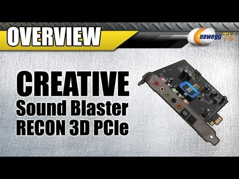 Newegg TV: Creative Sound Blaster Recon3D PCIe Interface Sound Card Overview