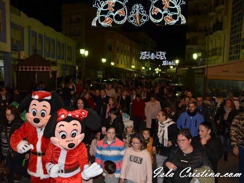 Encendido del alumbrado navideño de Isla Cristina