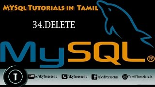 MYSQL Tutorials In Tamil 34 DELETE