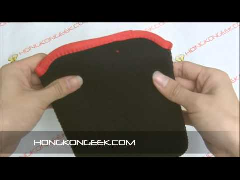 - UNBOXING AND TEST - 7 INCHES SOFT NEOPRENE SLEEVE FOR TACTILE TABLET