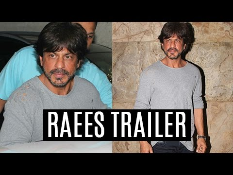 RAEES Trailer Screening : Shah Rukh Khan Looked Ne