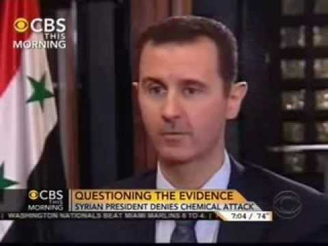 Bashar Assad - Syria: Syrian President Bashar al-Assad - Charlie Rose Interview - September 9, 2013 PBS' Charlie Rose interviews Syrian President Bashar al-Assad on Monday,...