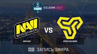 Navi.G2A vs Space Soldiers - ESL One Cologne 2017 - de_train [yXo, Enkanis]