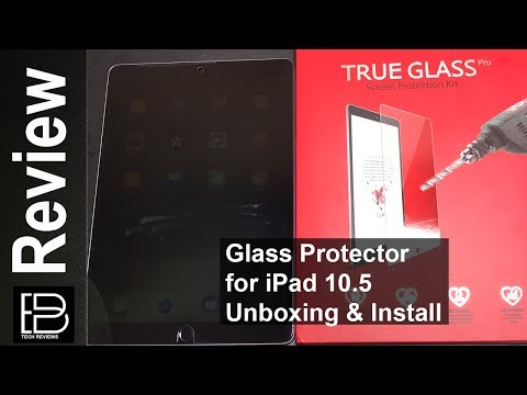 iPad Pro 10.5 Tempered Glass Screen Protector from iCarez