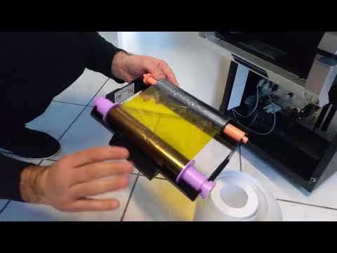 Les petits tutos de BC Label : changer le consommable de l'imprimante