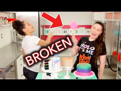 Oops I Broke Her Kitchen   Outtakes ft. How To Cake It