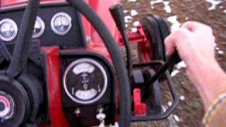 6. 966 International Tractor - Driving & Shifting Out