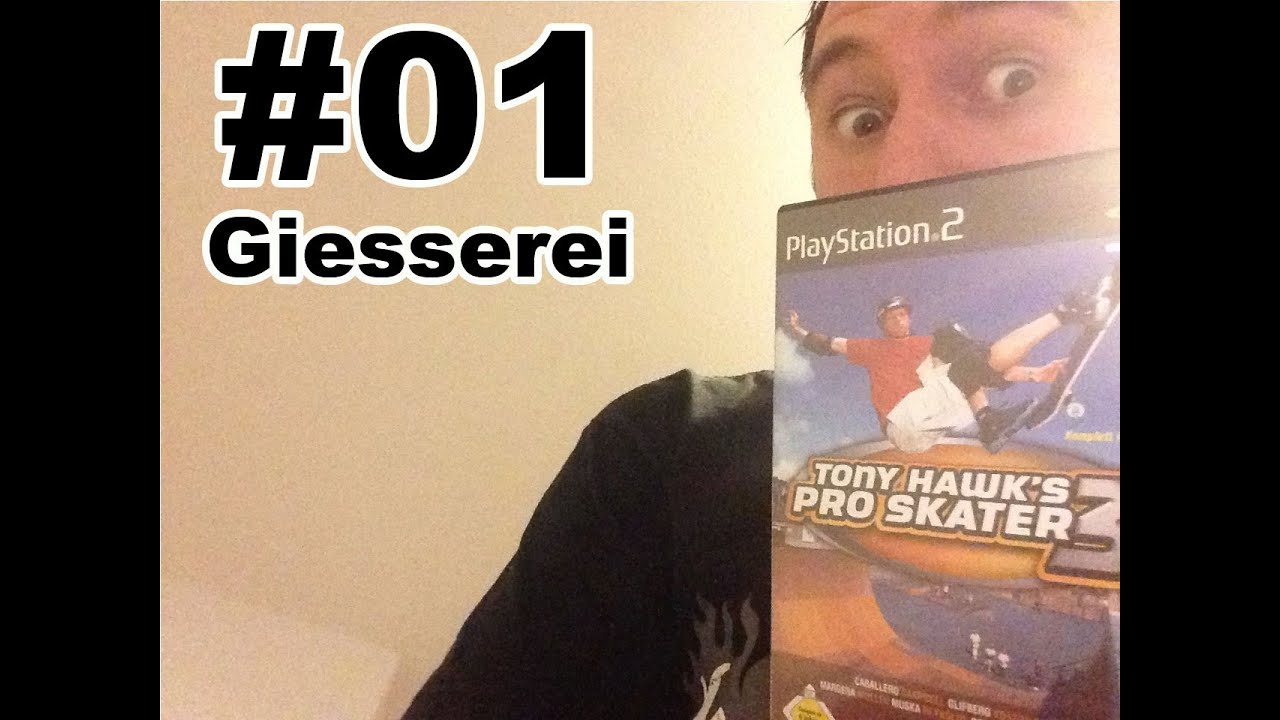 #01 Tony Hawk's Pro Skater 3 – Giesserei (Speedy Renton Let's Play)