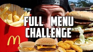 "Video ""SUPERCHARGED"" MCDONALDS MENU CHALLENGE! MP3, 3GP, MP4, WEBM, AVI, FLV Januari 2018"