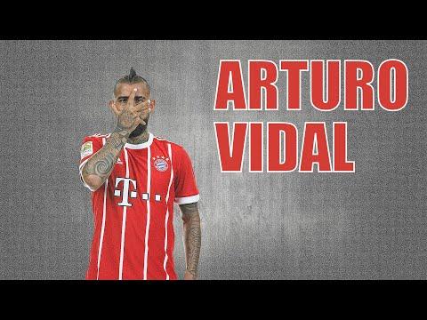 """Arturo Vidal """"Goodbye Bayern"""" - Defensive Skills and Goals - Bayern 2015/18 HD"""