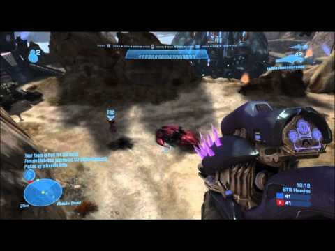 Halo Reach Multiplayer - In game 10 of my epic Big Team Battle multiplayer games, I get on a strange version of Spire called Cragmire! In this one I get into some epic heavies battle...