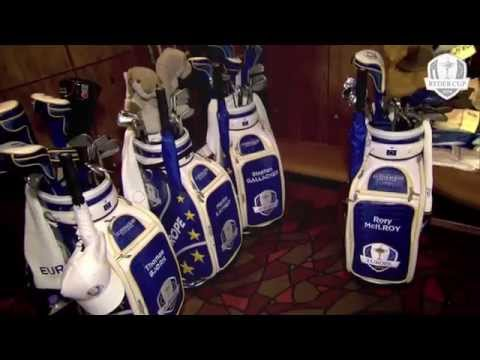 The 2014 Ryder Cup European Team Locker Room