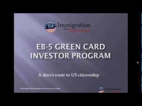 The EB5 Investment Visa: Overview