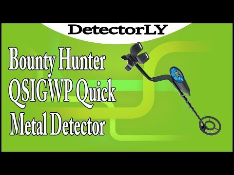 Bounty Hunter QSIGWP Quick Silver Metal Detector Review