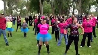 Lamar (CO) United States  city pictures gallery : Flash Mob For A Cure - Lamar, CO