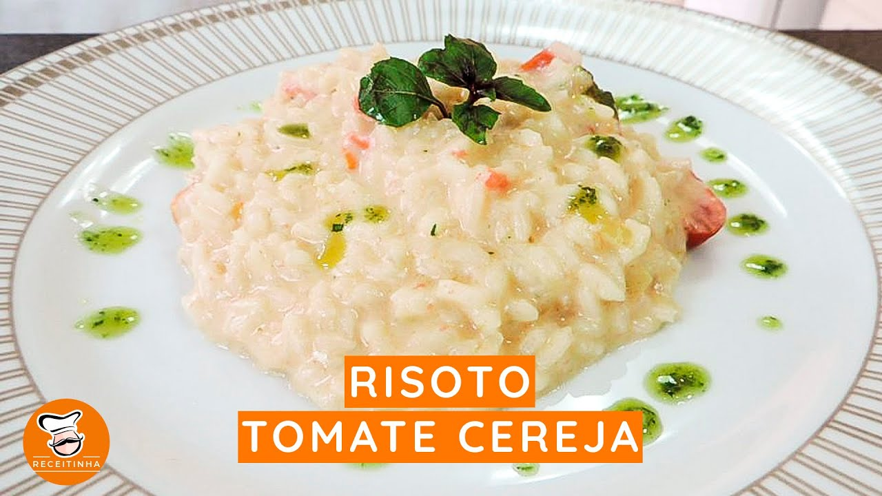 #23 - Risoto Tomate Cereja com Cream Cheese