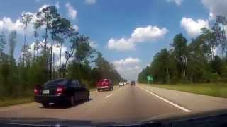 Mandeville (LA) United States  city pictures gallery : Driving from Mandeville, Louisiana to Biloxi, Mississippi