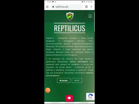 Актуальное видео-руководство по установке программы Reptilicus