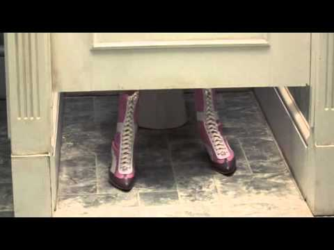 White Chicks - in the rest room - allergic to cheese