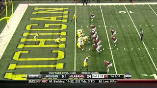 CJ Mosley vs Michigan (2012)