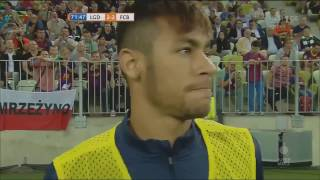 Video Neymar Jr vs Lechia Gdańsk (Debut For FC Barcelona) 13/14 MP3, 3GP, MP4, WEBM, AVI, FLV Juni 2018