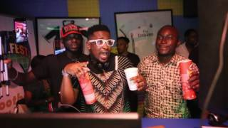 Coolfm 96.9 Lagos hosted the very first Live Studio Party in Nigeria tagged ' Goalfest Live Studio Party' The Goalfest Live Studio Party was hosted by the Hype king himself DO2DTUN, Superstar DJ Xclusive and the best sports team on radio Femi and The Gang.  The very sexy  Niniola had everyone dancing to her new single 'Maradona'.  Humble Smith the Osinachi singer also joined the party. Goalfest is one of the biggest sporting events to hit Lagos, and is the ultimate free access, live event, giving over 5000 fans, enthusiasts and families the chance to experience the greatest football event in an electric atmosphere. Activities for Goalfest include music, comedy, games, food and drinks, kids corner, talent hunt and the Champions League final on big screens. Goalfest will take place at the Balmoral Convention Center, Federal Palace Hotel V.I Lagos.  Date is Saturday June 3, 2017. Time is 12 noon. Get your invites @ goalfestnigeria.com Goalfest is sponsored by Baba Ijebu Premierbet  *755# and supported by pringles