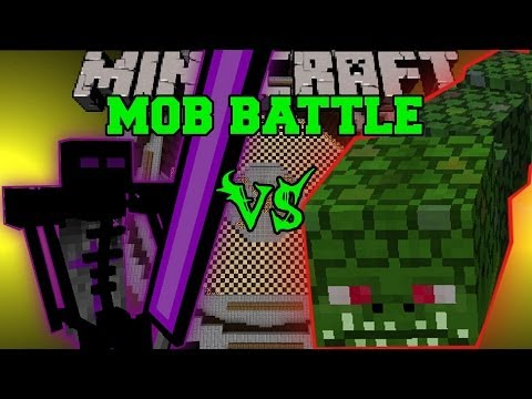 NAGA VS ENDER KNIGHT - Minecraft Mob Battles - Twilight Forest and OreSpawn Mods