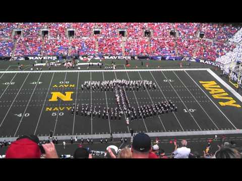 Ohio State Marching Band halftime show 8/30/14