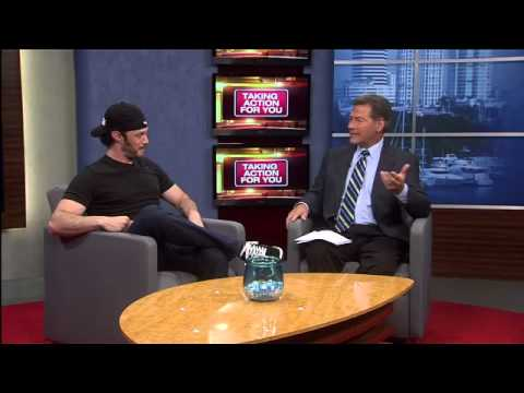 Comedian Josh Wolf performing in Tampa