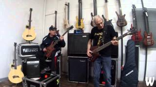 Warwick Australia  city images : Andy Irvine & Roger Mclachlan Bass Jam at Warwick Australia HQ