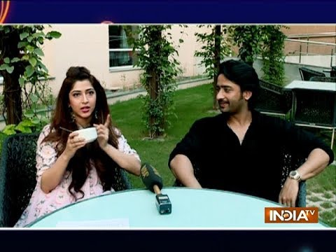 Shaheer Sheikh and Sonarika Bhadoria's fun filled acting test