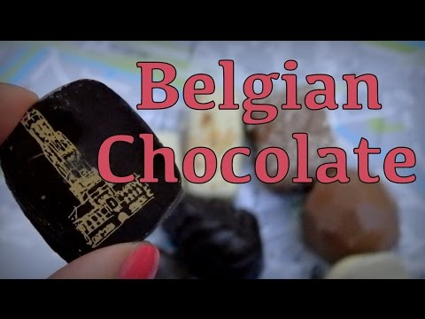 VIDEO: Belgian Chocolate taste test in Bruges