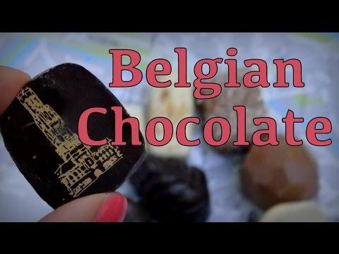 Belgian chocolate taste test in Bruges