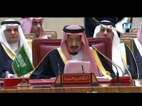 #فيديو ::  كلمة #خادم_الحرمين_الشريفين أمام القمة الخليجية الـ 37 في المنامة