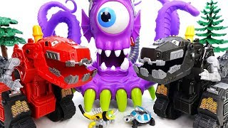 Video A Deep Sea Monster Is Appeared~! Dinotrux, Defeat The Monster Together - ToyMart TV MP3, 3GP, MP4, WEBM, AVI, FLV Desember 2017