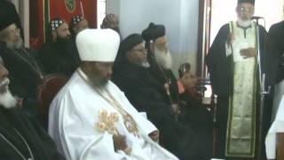 Patriarch Abune Paulose Of Ethiopia Visits Orthodox Seminary. Dec. 2008
