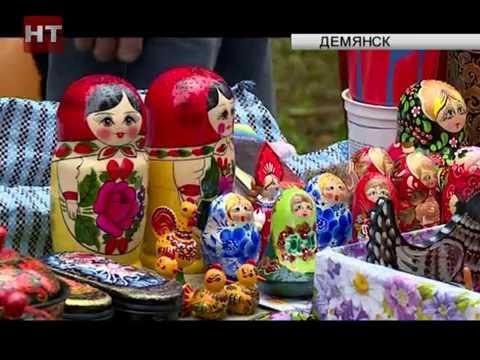 Жители Демянска отметили сразу две даты