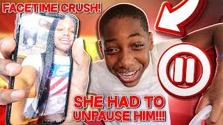 PAUSE CHALLENGE WITH KIDS I FACETIMED JAY CRUSH TO UNPAUSE HIM!!