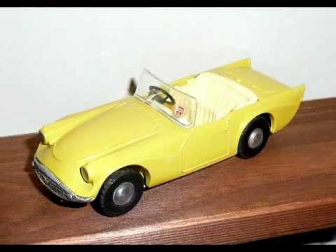 model vehicles - Triang Spot On Collection of diecast model vehicles, made in Northern Ireland during the 1960s. Ford Zodiac, Bentley Sports Saloon, MGA sports car, Triumph T...