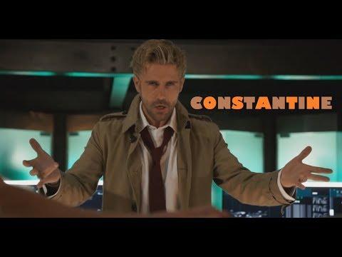 John Constantine Magic Scenes | Arrow