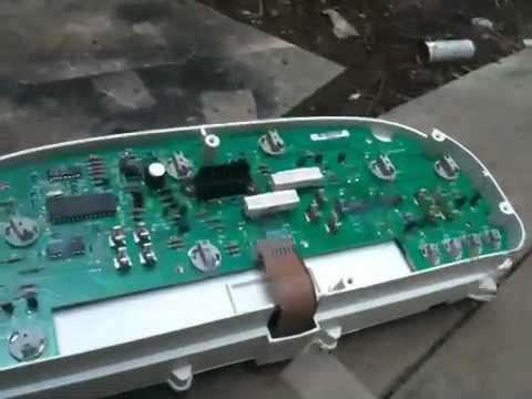 Repair instrument cluster 1999 dodge caravan